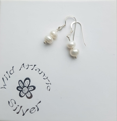Water Pearl Earrings